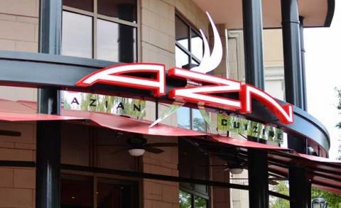 Azn azian cuizine charlotte for Azian cuisine menu
